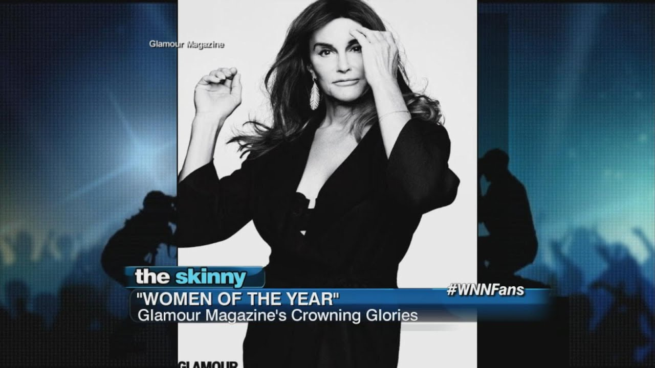 """Caitlyn Jenner Crowned """" Woman of the Year"""" - YouTube"""