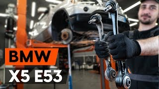 Come sostituire braccio oscillante anteriore su BMW X5 (E53)
