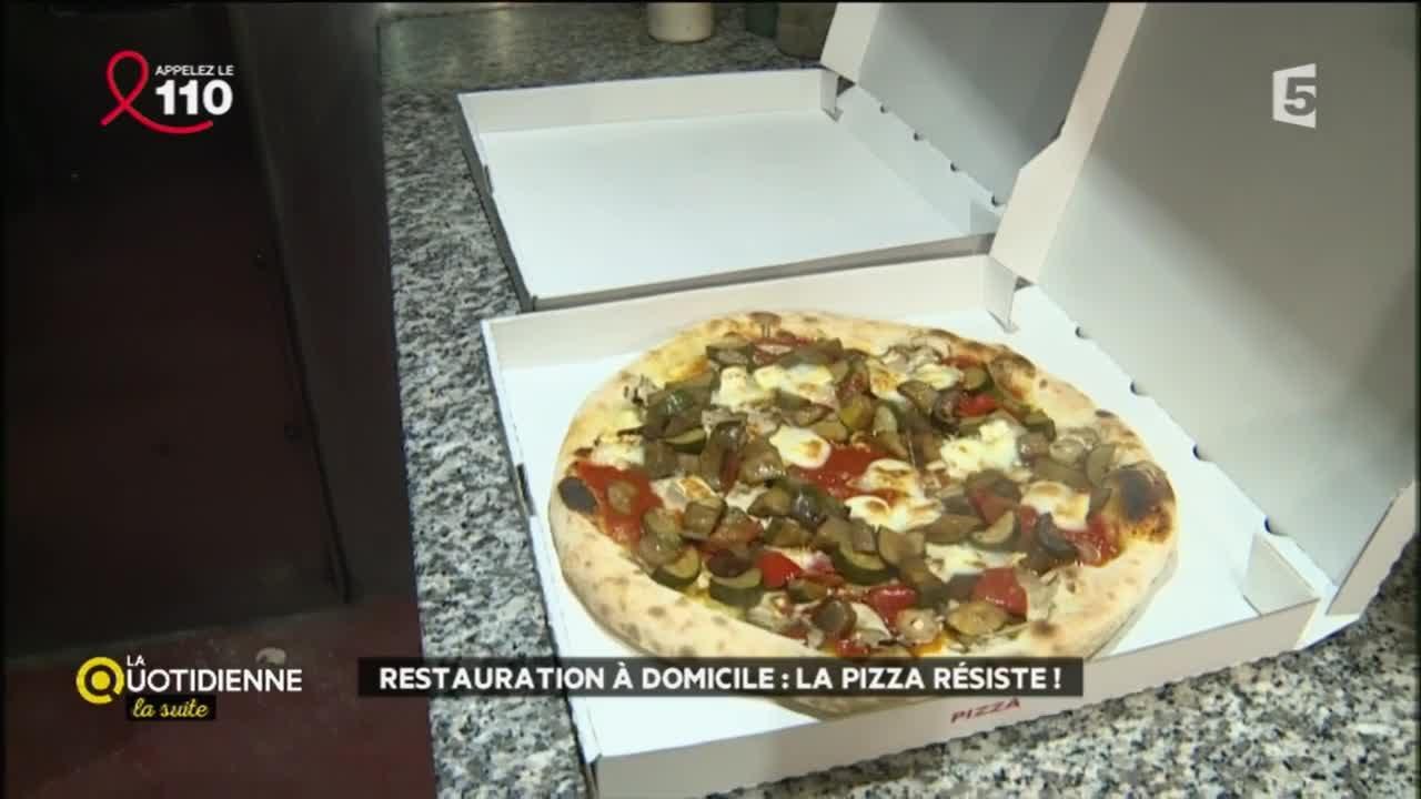 Restauration à domicile : la pizza résiste