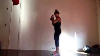 Kettlebell Goblet Squat with Bicep Curl- Smart Strength