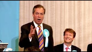 Farage: Don't get mad, get even! - Brexit Party Rally, Huddersfield, 13.05.2019