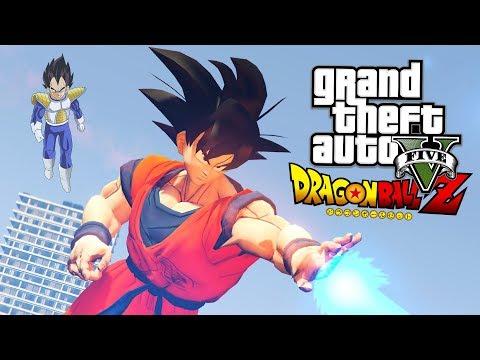 GTA 5 Mods - DRAGON BALL Z MOD w/ KAMEHAMEHA!! GTA 5 Dragon Ball Z Mod! (GTA 5 Mods Gameplay)