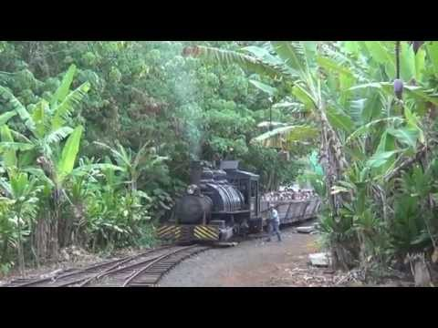 The Grove Farm Sugar Cane Train In Kauai!!!