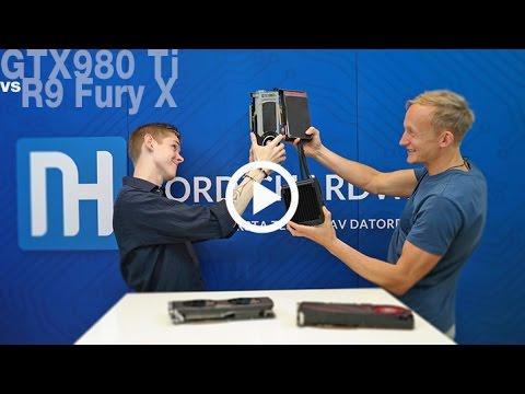 AMD R9 Fury X vs. Nvidia GTX 980 Ti - Årets grafikfajt i sex ronder!