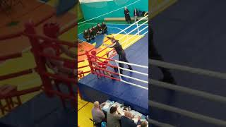 Финал Первенства Владимирской области по боксу среди юниоров Бой Никиты Тренина