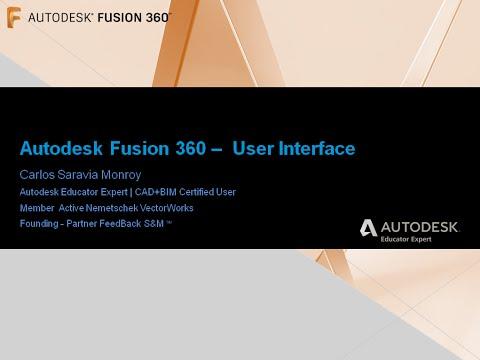 Curso Básico Autodesk Fusion 360 - 001 - Interfaz de Usuario