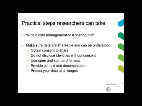 Webinar: Data management basics