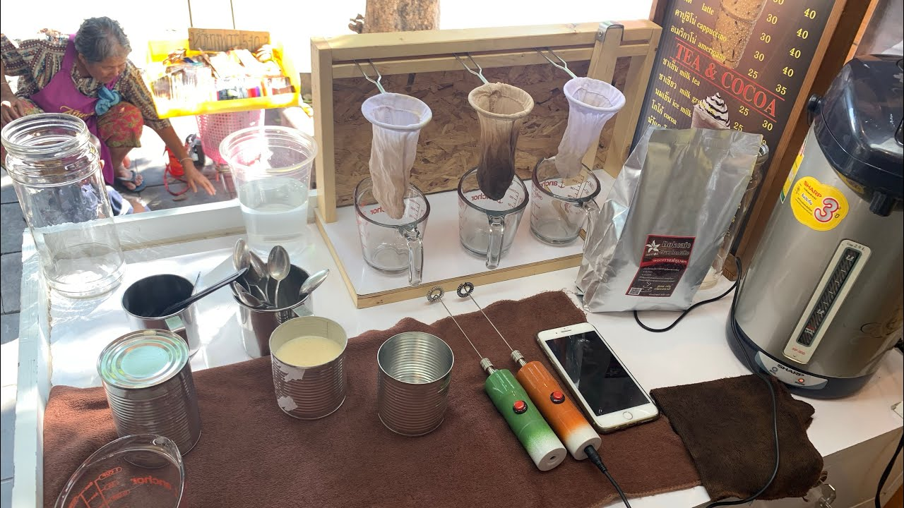 ร้านกาแฟโบราณ การสร้างภาพลักษณ์ ด้วยอุปกรณ์ง่ายๆ เพื่อความเชื่อมั่นและความสะดวกในกาชงกาแฟสร้างรายได้