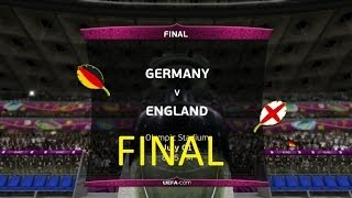 UEFA EURO 2012 FINAL GERMANY:Xbox360 |GAMEPLAY:BG|