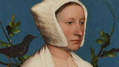 Hans Holbein the Younger: ' Lady with Squirrel and Starling'   Paintings   National Gallery, London