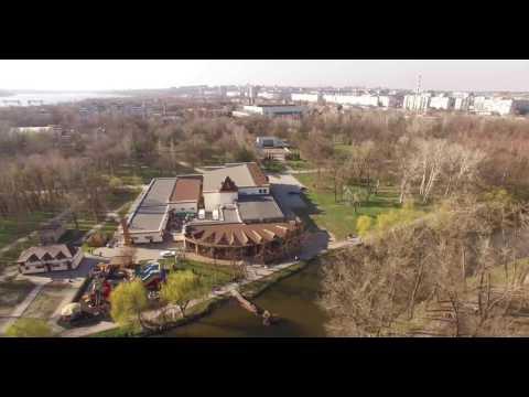 Парк Дубовая Роща с высоты - Весна 2017