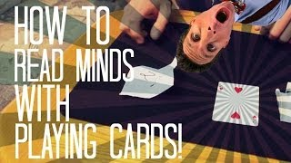 HOW TO READ MINDS : EASY MENTALISM CARD TRICK!