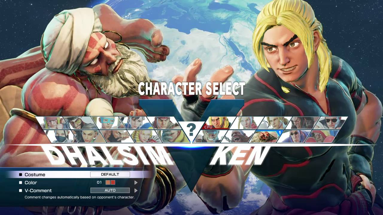 Street Fighter V Japanese Character Select Voices Youtube