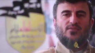 مقتل زهران علوش قائد جيش الإسلام بغارة روسية