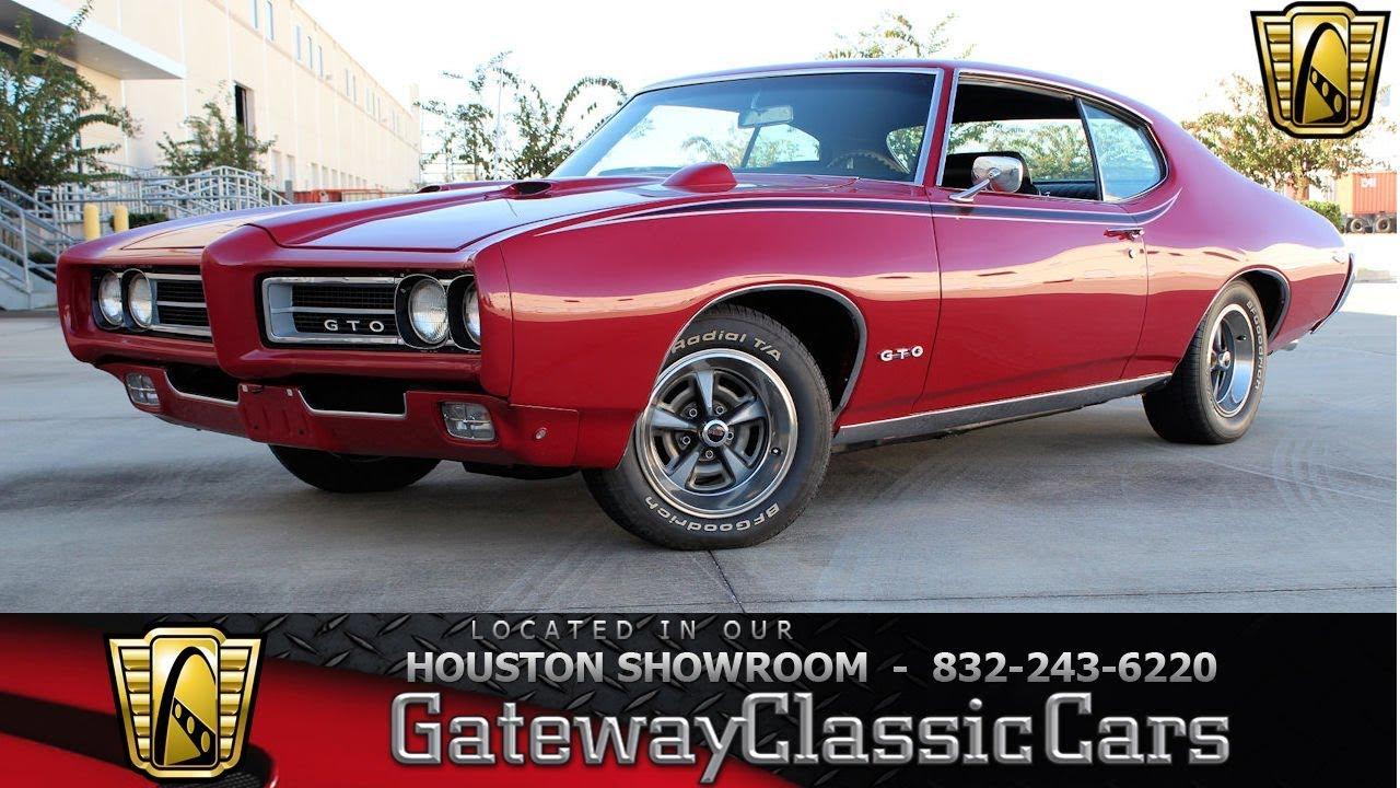 1969 Pontiac Gto Gateway Classic Cars 1385 Houston Showroom