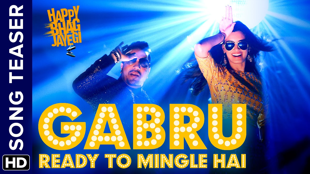 Gabru Ready To Mingle Hai | Song Teaser | Happy Bhag Jayegi | Diana Penty | Mika Singh