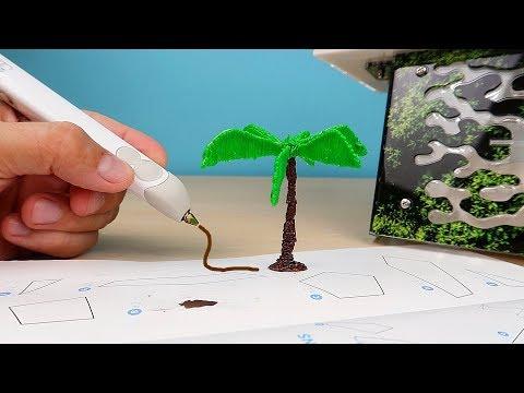 Моя новая 3Д ручка 3Doodler Create! Рисую декор для Формикария! Как живут мои муравьи. alex boyko