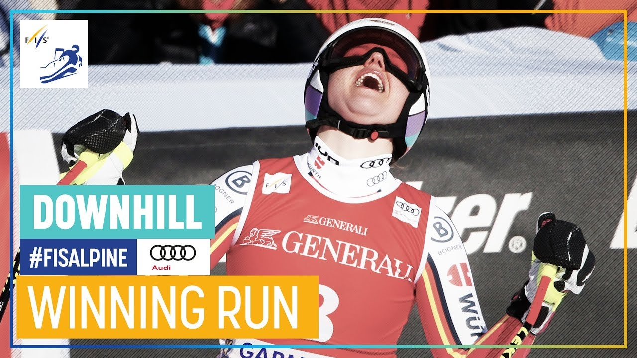 Viktoria Rebensburg Wins Garmisch-Partenkirchen Downhill