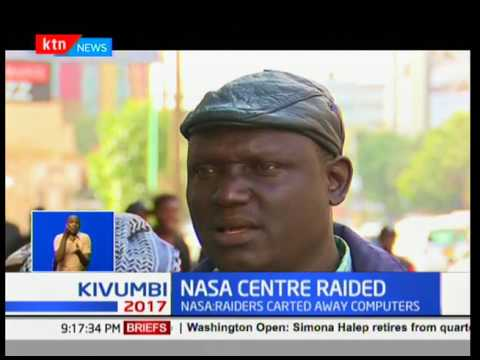James Orengo openly names five police officers behind the raiding of NASA centre