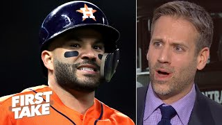The Astros are cheaters! - Max Kellerman is furious about 2017 sign-stealing allegation | First Take