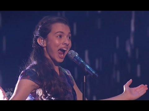 Laura Bretan: Child Opera Singer Hits SHOCKING Notes   Semi-finals (FULL)  America's Got Talent 2016