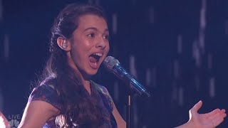 Laura Bretan: Child Opera Singer Hits SHOCKING Notes | Semi-finals (FULL)| America's Got Talent 2016