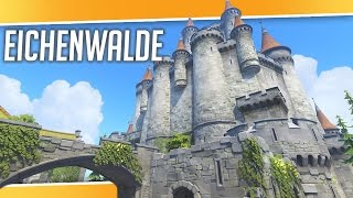 Overwatch | Eichenwalde NEW MAP - Walkthrough, Tips and Choke Points
