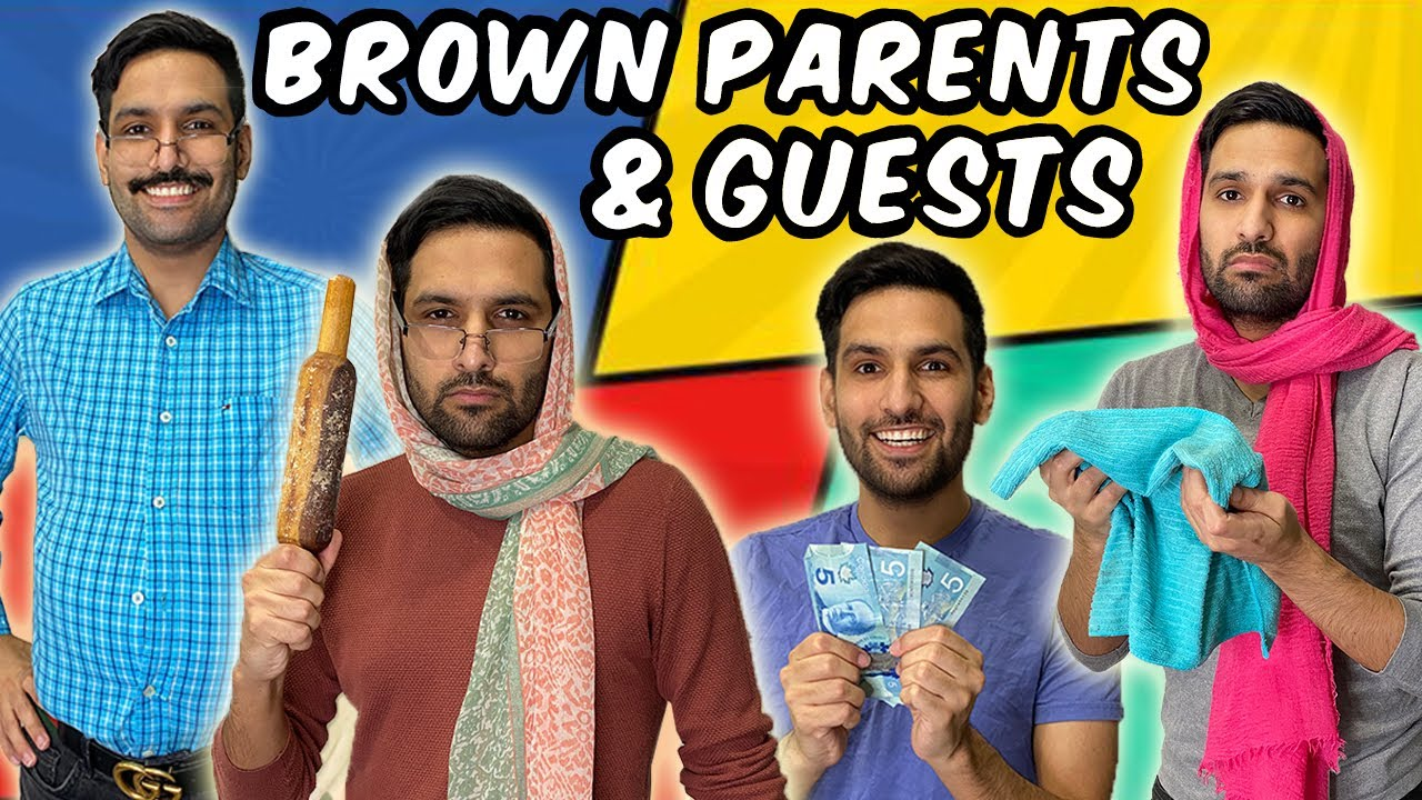 BROWN PARENTS AND GUESTS! | COMEDY VIDEO