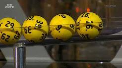 EuroJackpot - Ziehung der Lottozahlen