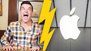 Tourette gegen Apple