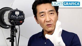 ストロボを使用して、顔写真の撮影に特化した照明のセットです。 デジタ...