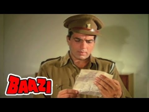 Murder Investigation By Dharmendra  - Baazi (1968) | Scene | Bollywood Movie