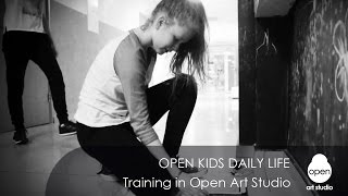 Open Kids daily life. Training - Open Art Studio