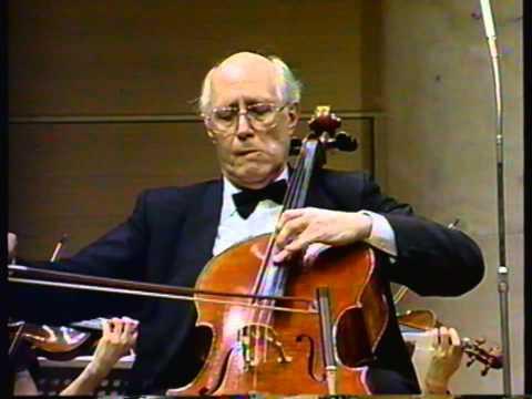 Haydn Cello Concerto No. 1 in C major - II. Adagio, Cello: Rostropovich