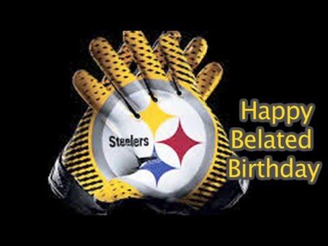 Steelers Belated Birthday
