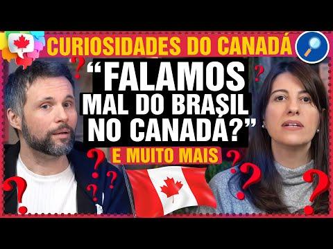 O que amigos canadenses pensam do Brasil? Escolas públicas e mais - Canadá Diário Responde #81