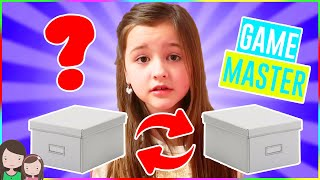 AVA vs. GAME MASTER!! MYSTERY BOX SWITCH UP CHALLENGE - Alles Ava