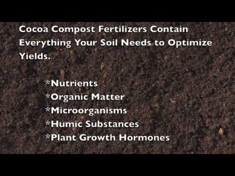 Cocoa Compost Fertilizer