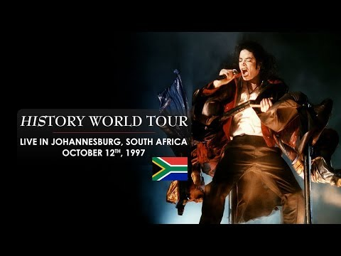 Michael Jackson: History World Tour live in Johannesburg, South Africa (1997) [enhanced by HappyLee]
