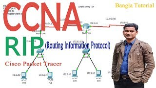 Configuring RIP on Packet Tracer Step by Step | Dynamic Routing using RIP (CCNA) | RIP Tutorial