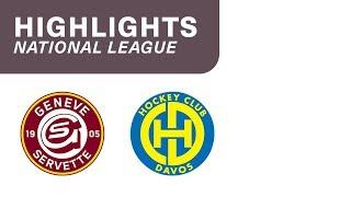 Genève-Servette HC vs. HC Davos 2:5 - Highlights National League