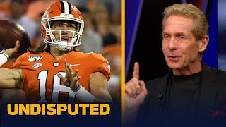 Skip Bayless reacts to Trevor Lawrence's first start of 2019 | CFB | UNDISPUTED