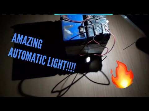 DIY AUTOMATIC LIGHT USING LDR & BC548 TRANSISTOR !!😉🔥