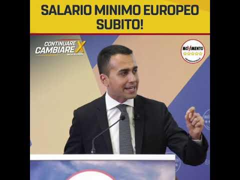 Salario Minimo EUROPEO Subito!