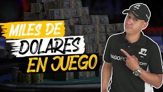 Miles de dólares en juego, ganó más de 100k dólares #pokerflorida #poker #pokercoach
