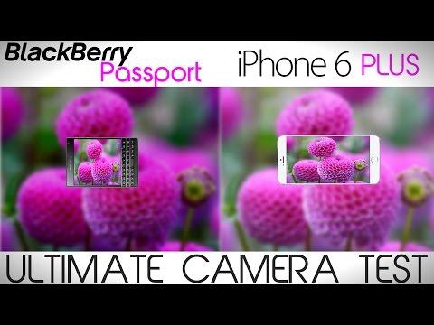 Blackberry Passport vs iPhone 6 Plus - Camera Comparison
