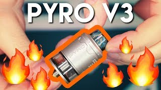 Vandy Vape Pyro V3 - SQUONKABLE & AFFORDABLE!!