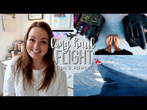 LONG HAUL FLIGHT TIPS & ADVICE! ✈️ | Brogan Tate