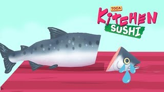Toca Kitchen Sushi - New Best Cooking App for Kids!!