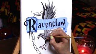 Ravenclaw Crest Painting
